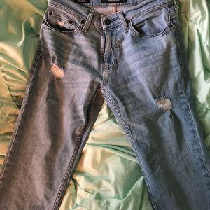 Mens Hollister distresssed jeans